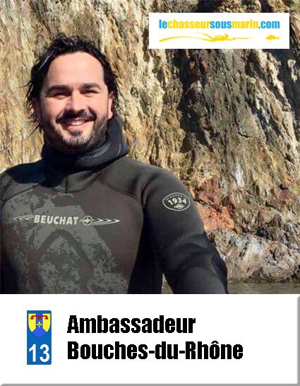 ambassadeur lechasseursousmarin.com Bouches-du-Rhône