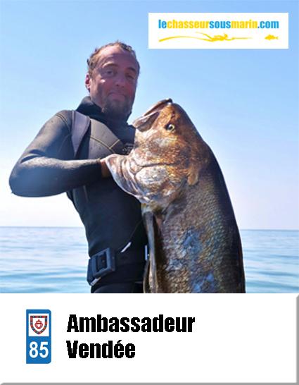 ambassadeur lechasseursousmarin.com Vendée 85
