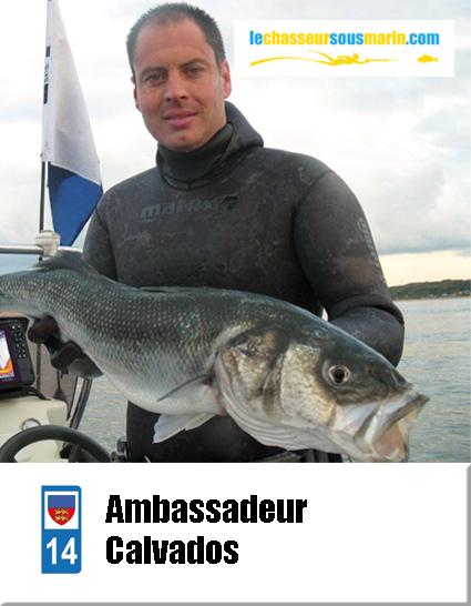 ambassadeur lechasseursousmarin.com pour le Calvados